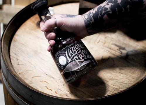 Lugger Rum on barrel
